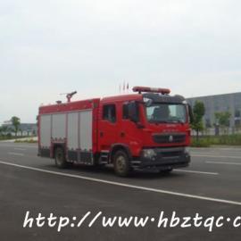 国五重汽豪沃5吨消防车