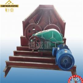 高岭土2RXL750单双螺旋洗矿机操作简易