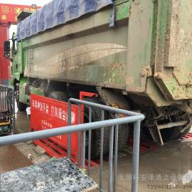 汾阳工地洗车机-大型建筑工地用洗车设备-滚轴式洗轮机