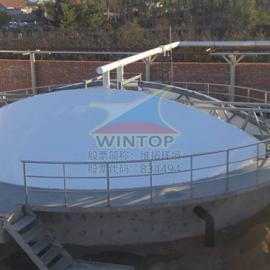 污水池加盖除臭,污水池膜密封罩,污水池膜加盖,膜结构厂家