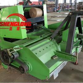 南陵县棉花秸秆粉碎打捆机 收割打捆机 价格