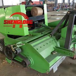 收割机玉米秸秆粉碎打包机 粉碎打捆机