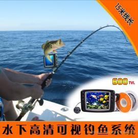 4.5寸可视钓鱼摄像头,钓鱼水下摄像机