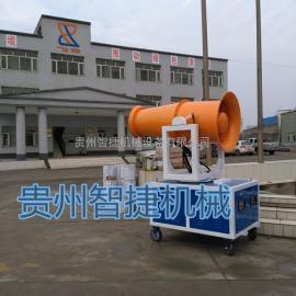 ZJWP-1工业除尘喷雾机 风送式喷雾机 自动雾炮机