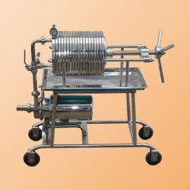 实验室压滤机 小型板框压滤机 320型铸铁板框压滤机