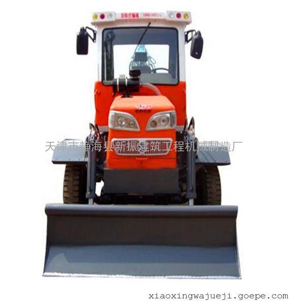 新振挖掘机东风底盘900轮胎轮式挖掘机