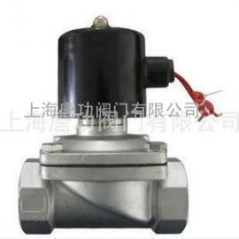 唐功2W-400-40B不锈钢内螺纹电磁阀 上海唐功电磁阀