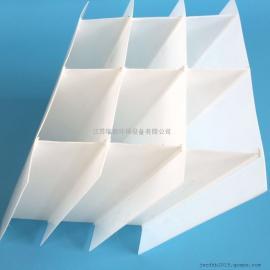 小间距斜板填料|污泥沉淀填料|PVC斜板填料-沉淀池填料