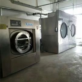 中小型宾馆布草洗衣机,酒店洗衣房不锈钢洗涤设备价格