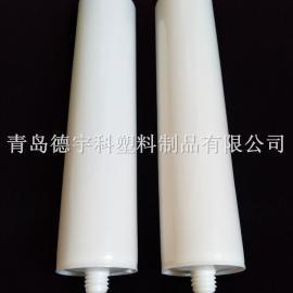 密封白色空硅胶管 玻璃胶管 优质胶筒厂家直销 免费拿样