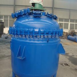 广东搪玻璃反应釜、电加热反应釜、电加热搪瓷反应釜厂
