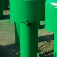 锅炉排气管用套筒补偿器(D-DG87-0904)安装