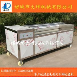 大坤厂家直销土豆毛辊去皮清洗机 芋头清洗机