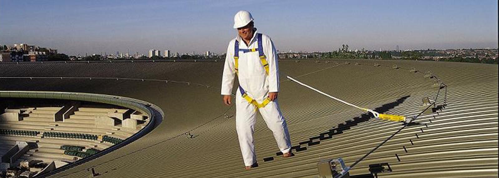 尚宏全面性水平生命线系统安装范围高空屋面罐车钢缆行车应用广泛