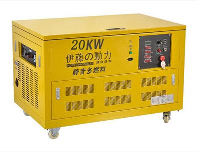 伊藤动力20KW汽油发电机YT20RGF合同订金发货
