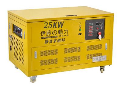 伊藤25KW燃气发电机YT25RGF