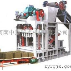 中豫瑞光QTJ4-35简易式制砖机投资少,见效快