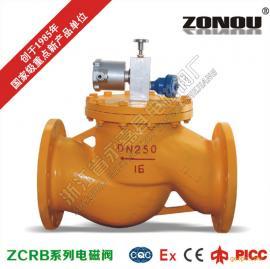 ZCRB燃气紧急切断阀 常闭手动复位燃气电磁阀