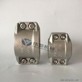 不锈钢安全夹,304强力管箍、抱箍