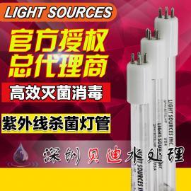 LIGHT SOURCES莱邵思GPHHA1554T6L工业污水处理汞齐紫外线杀菌灯