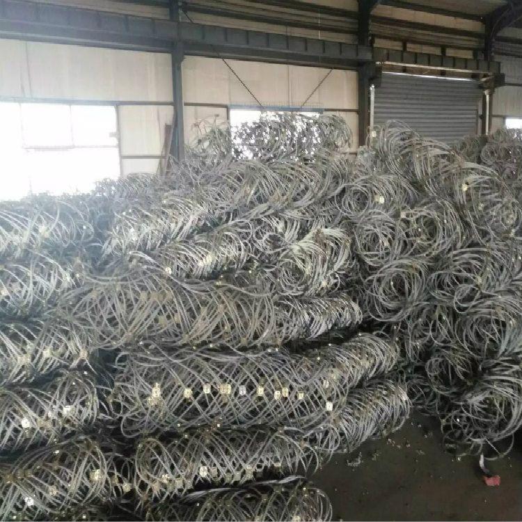 长治边坡主动防护网DO/08/300碎岩拦截钢丝绳双层挂网