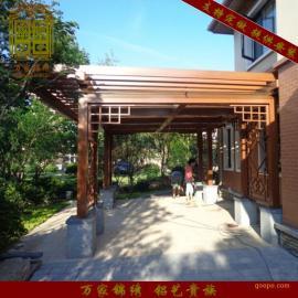 众达庭院优质防腐木户外廊架花架