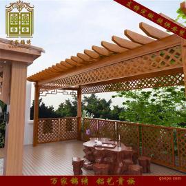 宁波众达专业生产防腐木庭院户外凉棚