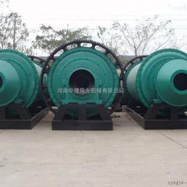 中豫瑞光Φ2.2×7m水泥球磨机采用卧式筒形旋转装置