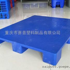重庆1210川字网格塑胶栈板叉车栈板垫板熟料地台板