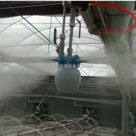 杨凌菜肴栽种基地用大喷加湿设备现厂家直销