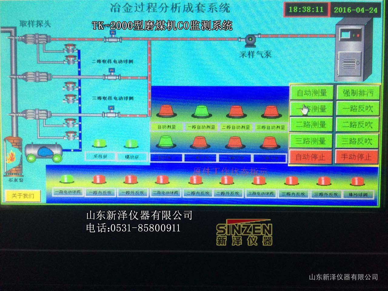 煤制粉CO在线监测