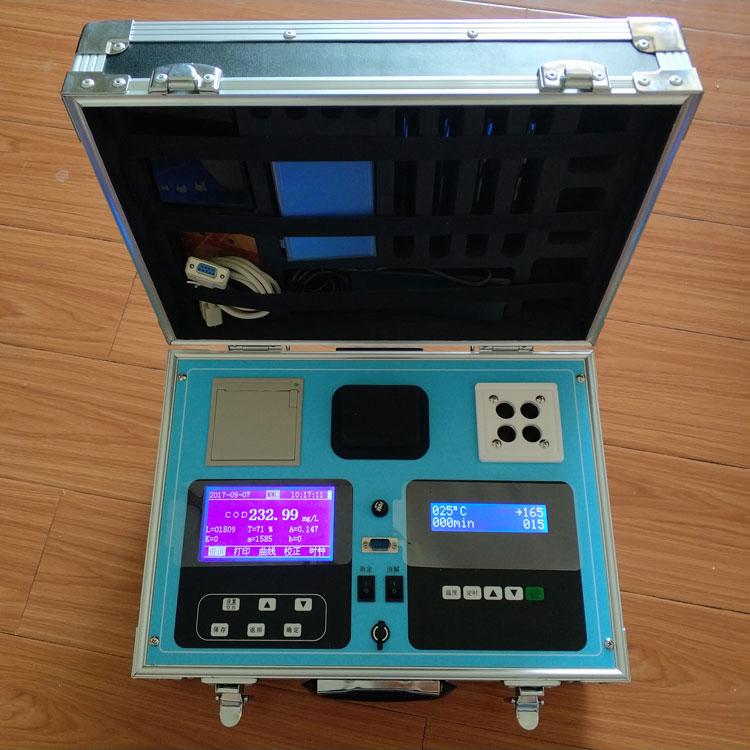 SN-200Y-5野外应急便携式水质多参数五合一测定仪 尚德仪器