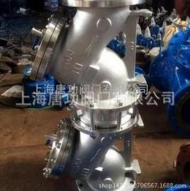 唐功HS41X-16P不锈钢倒流防止器 不锈钢法兰防污