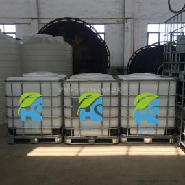 金湖1吨抗氧化塑料吨桶IBC集装桶油漆包装桶堆码桶厂家