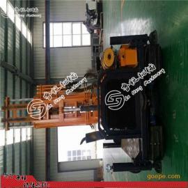 大孔径气动钻机 履带式150米高效率气动打井机