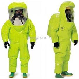 杜邦A级防护服 TK554T气体致密型全封闭化学防护服