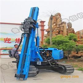 气动光伏打桩机 多功能履带打桩钻机价格