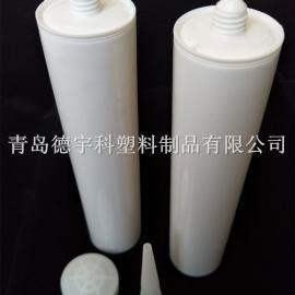 密封白色空硅胶瓶 玻璃胶瓶 优质胶筒 承德厂家直销免费拿样