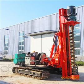 济宁HZD-300L3米电动液压履带打桩机