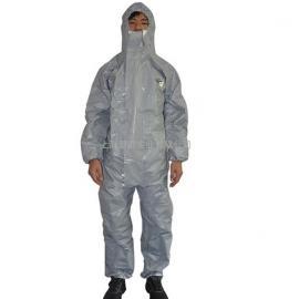 杜邦F级化学防护服 防酸碱 防辐射 防防强酸防护服