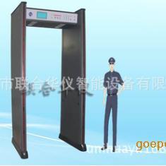 温度检测金属探测门 医院人体温度金属探测门 广州金属探测安检门