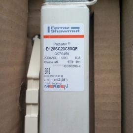 法国FERRAZ高铁专用熔断器D72SG120V250QF