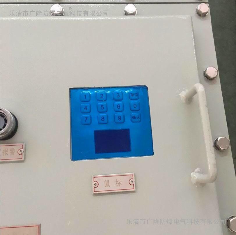 防爆触摸屏电控箱 防爆触摸屏PLC控制箱