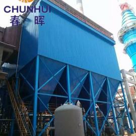 垃圾焚烧发电锅炉脱硫除尘器布袋+湿式脱硫流程分析