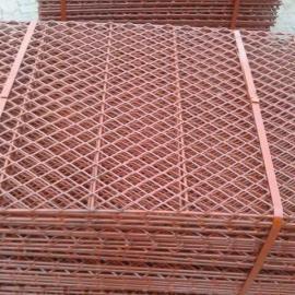蒲江菱形包边钢笆片加工批发价-承重力强高空踩踏板