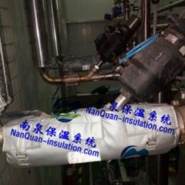内蒙古阀门保温节能套上海南泉专业供应球阀隔热保温盒