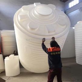 礼泉10吨耐酸碱塑料水箱平底水箱化工搅拌罐厂家直销