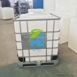 兴平1吨抗氧化塑料吨桶IBC集装桶堆码桶油漆包装桶价格