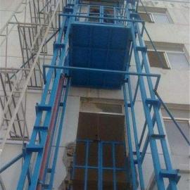 山西吕梁5吨液压导轨式升降机、铝合金升降台、小型电梯
