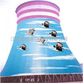 凉水塔刷油漆